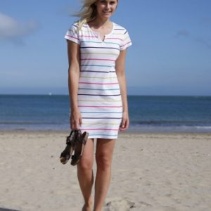 multistripe-notch-dress