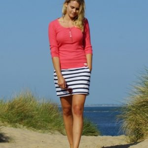 stripe-skirt-white